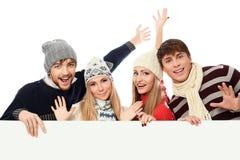 Cheerful guys Royalty Free Stock Image