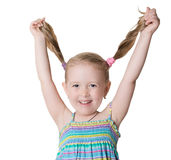 Cheerful happy child Stock Photo