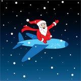 Cheerful and happy Santa Royalty Free Stock Image