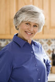 Cheerful healthy mature woman Royalty Free Stock Photo
