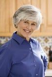 cheerful healthy mature woman Στοκ φωτογραφία με δικαίωμα ελεύθερης χρήσης