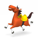 Cheerful Horse Stock Images