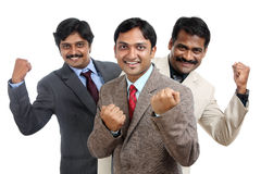 Cheerful Indian business professional team Royalty Free Stock Photography