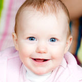 Cheerful infant Royalty Free Stock Photo