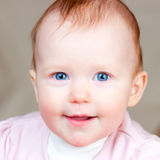 Cheerful infant Royalty Free Stock Photography