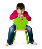 Cheerful kid Royalty Free Stock Photography