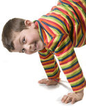 Cheerful kid Stock Photos