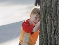 Cheerful kid Stock Image