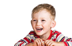 Cheerful kid Royalty Free Stock Photo