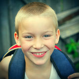 Cheerful Kid Portrait Stock Photos