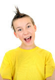 Cheerful Kid Portrait Royalty Free Stock Photography