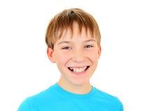 Cheerful Kid Portrait Royalty Free Stock Photo