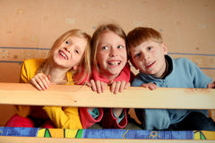 Cheerful kids Royalty Free Stock Images