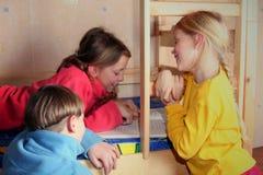 Cheerful kids Stock Image
