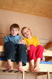 Cheerful kids Stock Photography