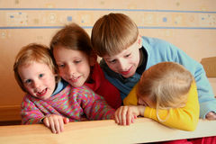 Cheerful kids Stock Photos