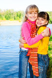 Cheerful kids royalty free stock photography
