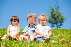 Cheerful kids Royalty Free Stock Image