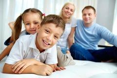 Cheerful kids Royalty Free Stock Photo