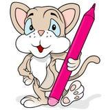 Cheerful Kitty Cat Stock Image