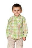 Cheerful  little boy Royalty Free Stock Photo