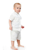 Cheerful  little boy Royalty Free Stock Images