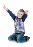 Cheerful little boy Royalty Free Stock Image