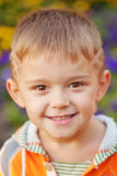 Cheerful little boy. Stock Images
