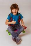 Cheerful little boy Stock Photo