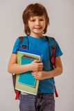 Cheerful little boy Stock Photos