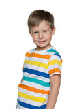 Cheerful little boy Stock Photo