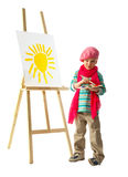 Young artist Royalty Free Stock Photo