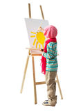 Young artist Stock Image