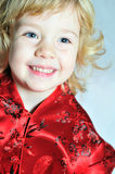 Cheerful little girl Royalty Free Stock Photos