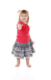Cheerful little girl Stock Photography