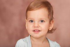 Cheerful little girl Stock Photography