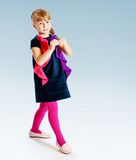 Cheerful little girl Stock Images