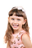Cheerful Little Girl Royalty Free Stock Photo