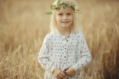 Cheerful little girl Royalty Free Stock Images