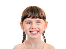 Cheerful Little Girl Royalty Free Stock Image