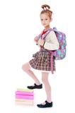 Cheerful little girl Stock Photos