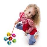 Cheerful little girl smile. Stock Image