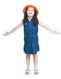 Cheerful little girl Royalty Free Stock Photos