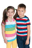 Cheerful little kids Royalty Free Stock Photos