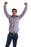Cheerful man Stock Images