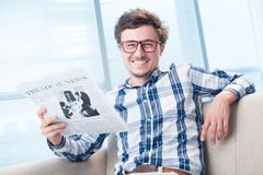 Cheerful man Royalty Free Stock Image