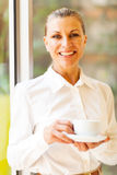 Cheerful mature businesswoman Royalty Free Stock Photo