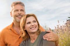 Cheerful Mature Couple Stock Photos
