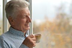 Cheerful Mature Man Stock Photography