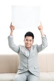Cheerful message Stock Image